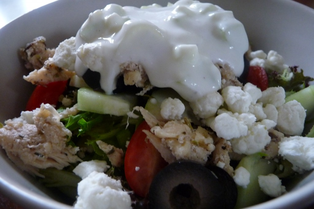 Greek Wraps or Salad