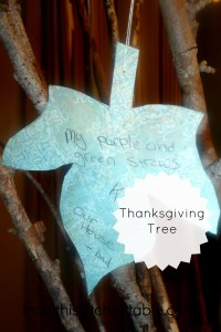 Thanksgiving Tree Ideas with a toddler at fromthiskitchentable.com