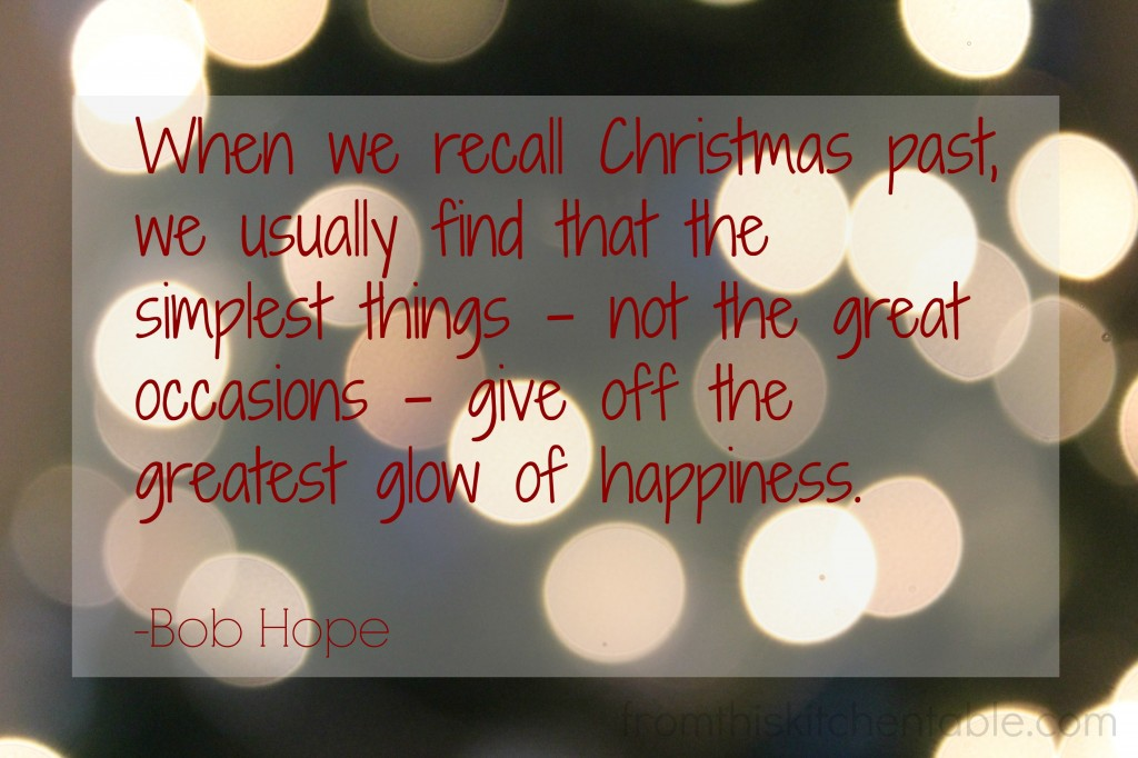 Bob Hope on Christmas