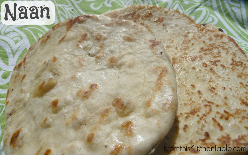 Easy and delicious naan. One of my favorite breads. You can make it in on the grill or a skillet.