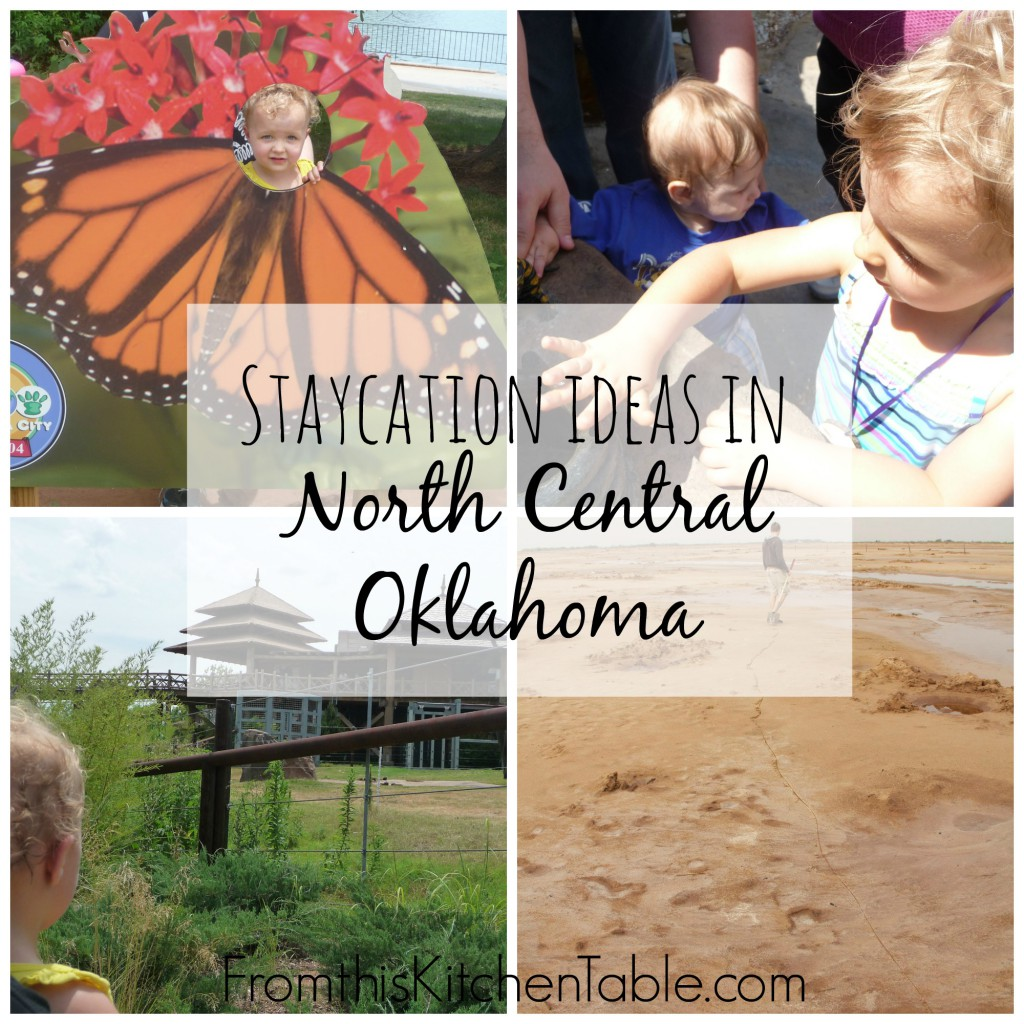 Staycation ideas in North Central Oklahoma