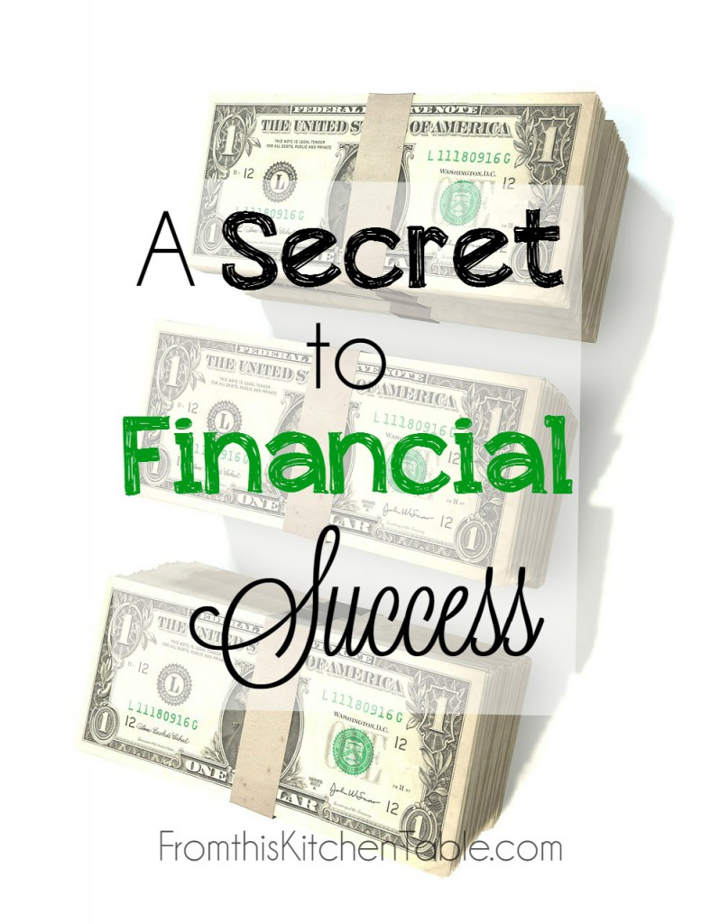 The Secret to Financial Success! Sitting down and doing this as a couple and actually following through as made a world of difference. You'll want to start today!