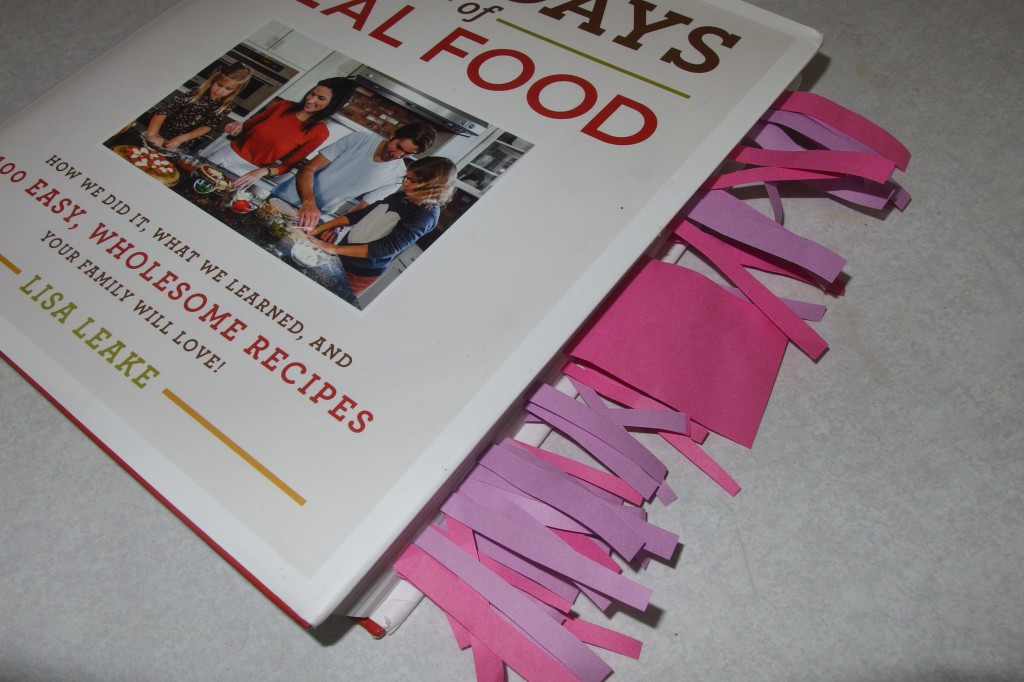 What I love about the 100 Days of Real Food cookbook!