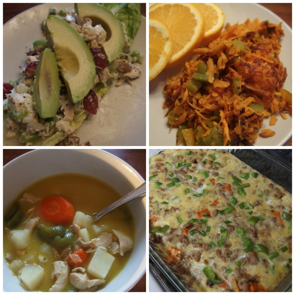 We have finally finished our first Whole30! Here is the recap for our last week.