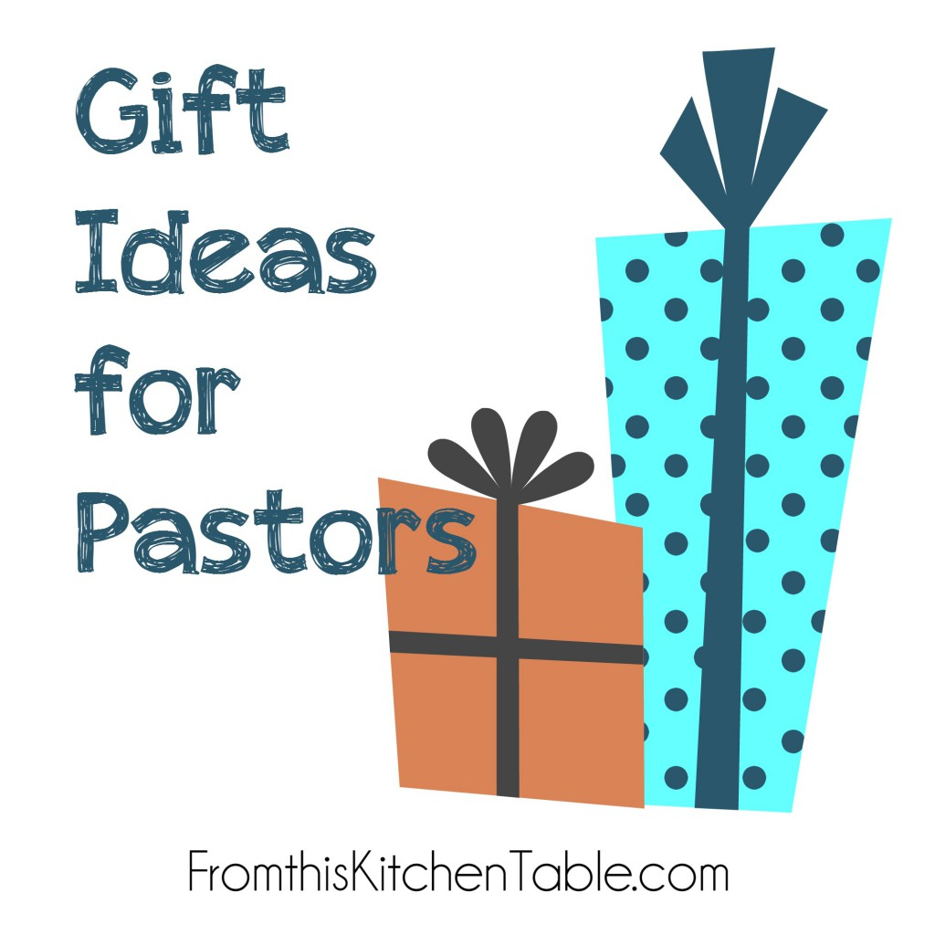 Great gift ideas for pastors! Some are free and others require money. Perfect for Pastor Appreciation Month and the holidays. Even written by a pastor's wife.