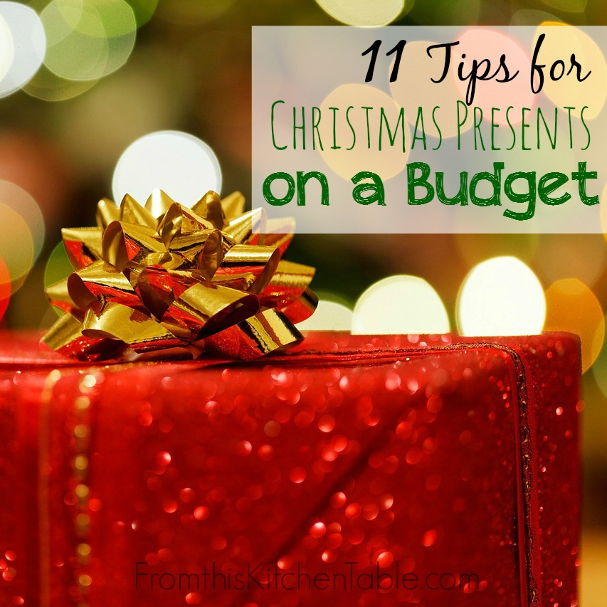 11 tips for buying christmas presents on a tight budget perfect for those of us - Cheap Christmas Gifts For Family