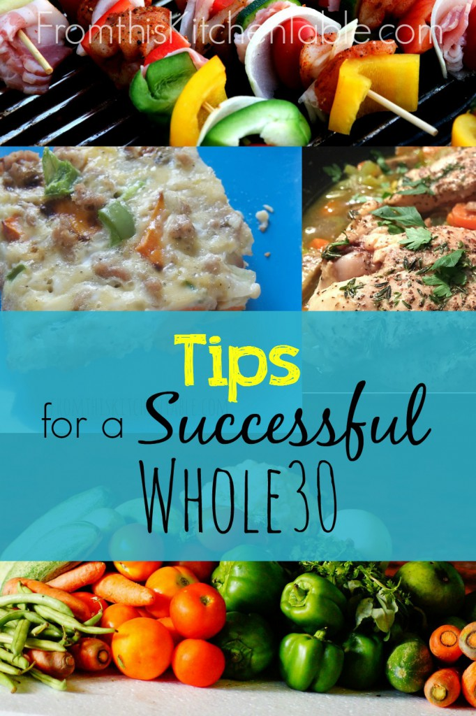 A Whole30 is a great way to help heal your body and ditch cravings. It's not easy, but it's worth it! Here are some tips for a successful Whole30!