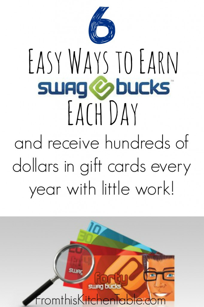 Swagbucks is AMAZING! I earn gift cards all year for web searches and streaming videos. The PERFECT way to afford presents when the budget is tight.