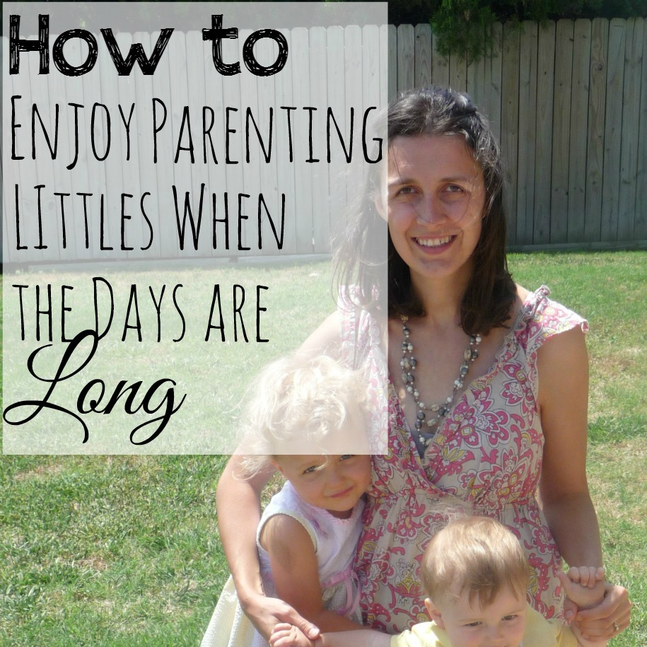 Being a parent is great, but man can it ever be exhausting. You want to enjoy these years but it's hard. These are some ways to enjoy this time when the days are long but the years are short.