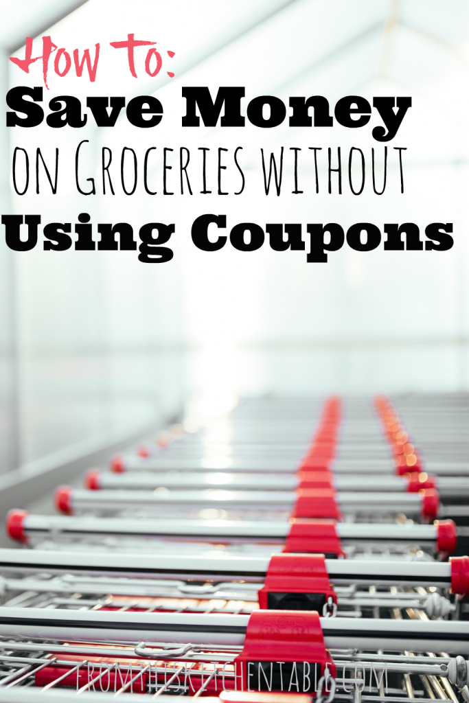 Grocery Carts: how to save money on groceries