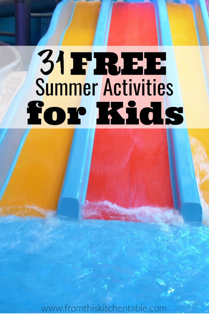 Summer Bucket list ideas for kids! Great ideas to make memories this summer.