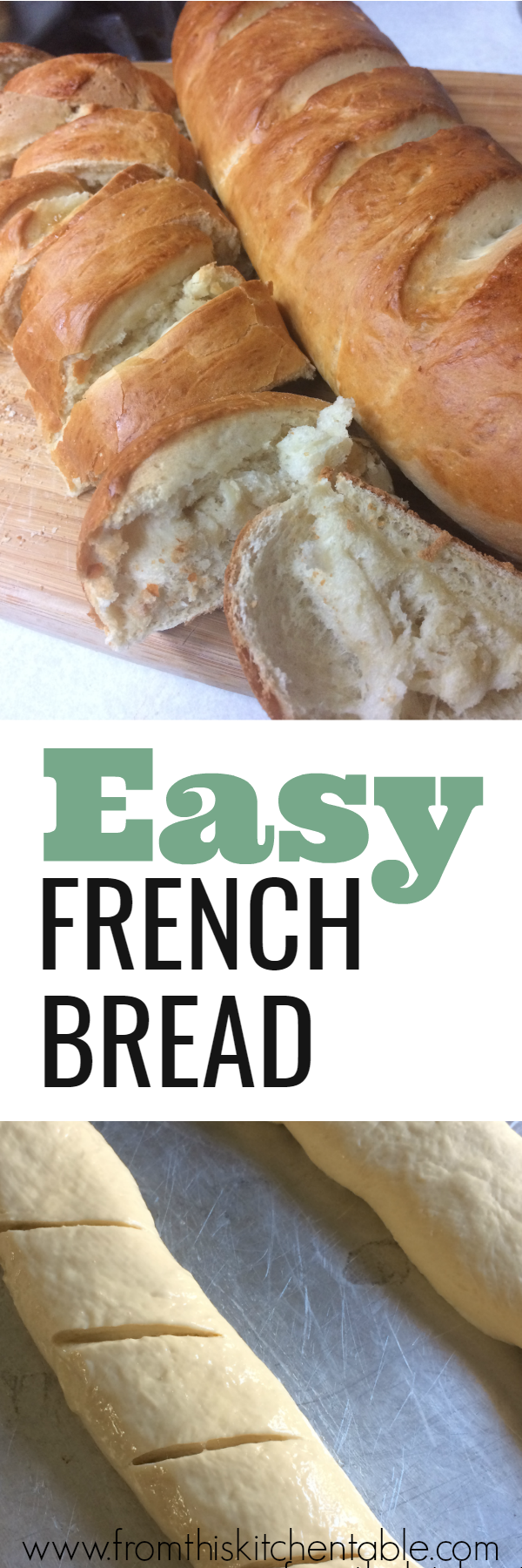 Delicious and easy homemade french bread! You'll make this all the time.