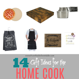 Great gift ideas for the home cook! These will be perfect for lots of people on my gift list. Ideas for every budget too.