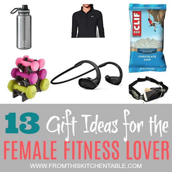 Gift ideas for the female fitness lover