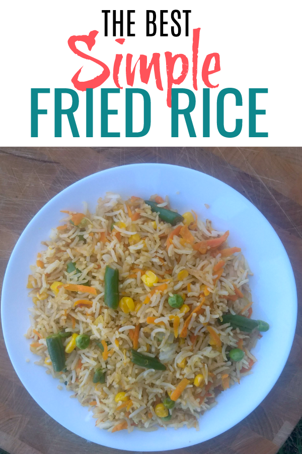 The best simple fried rice recipe