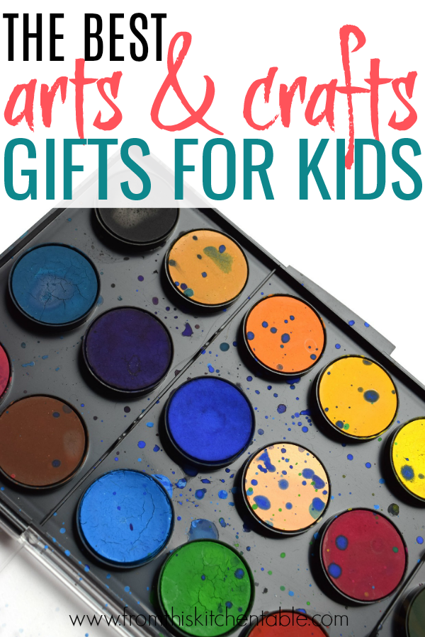 paint set for art gifts for kids. Great ideas for the creative kids in your life.