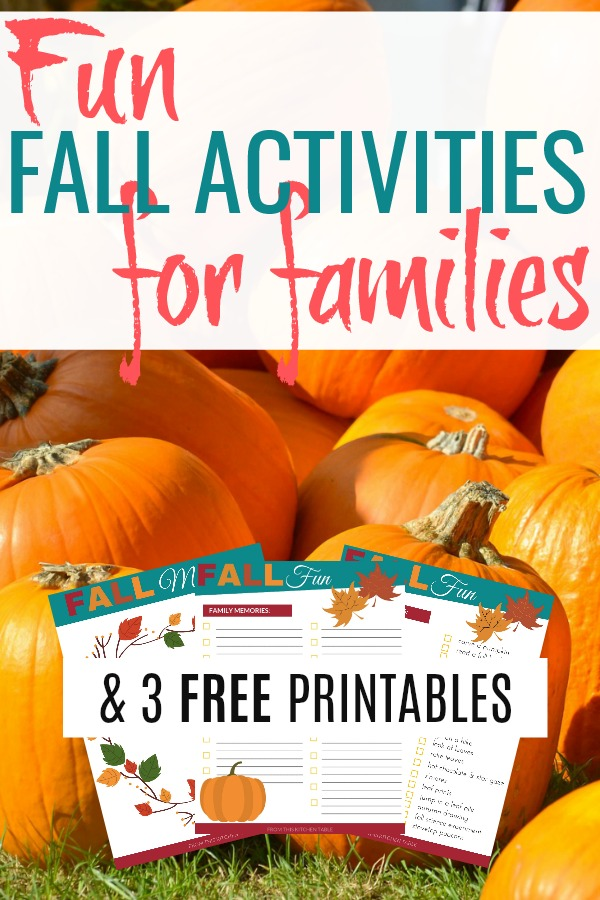 picture of pumpkin patch on list of fun fall activities for kids and 3 free printables