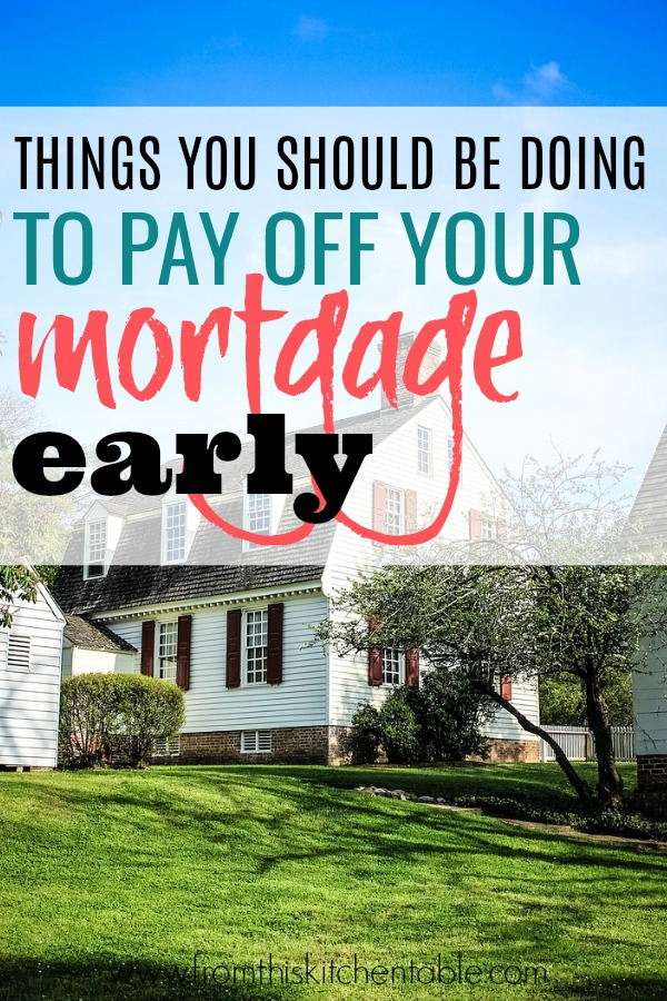 How to pay of mortgage faster. These tips will set you up for success.