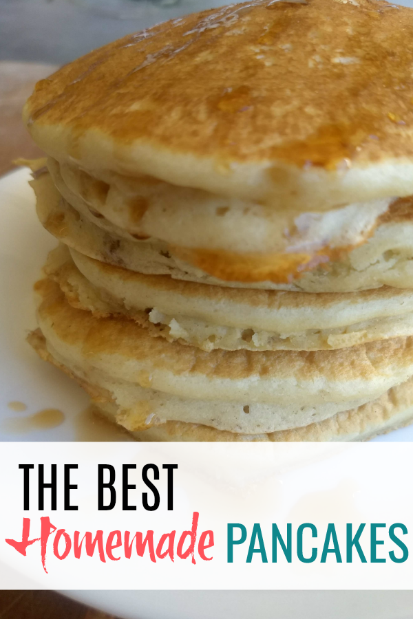 how to make homemade pancakes without butter