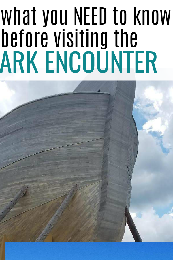 Noah's Ark at the Ark Encounter and everything you need to know to make your trip a success!