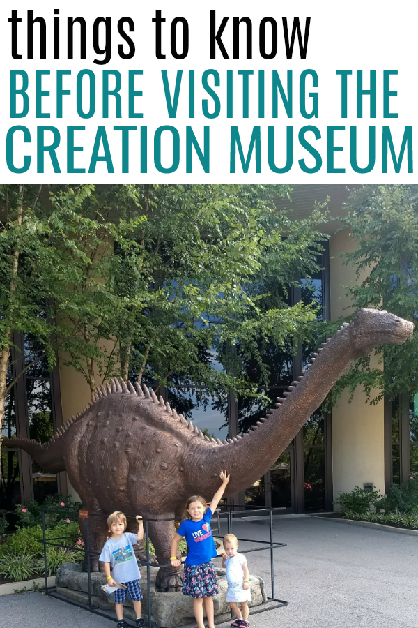 Dinosaur at the Creation Museum. Everything you need to know to make your trip to the Ark Encounter and Creation Museum the best trip yet!