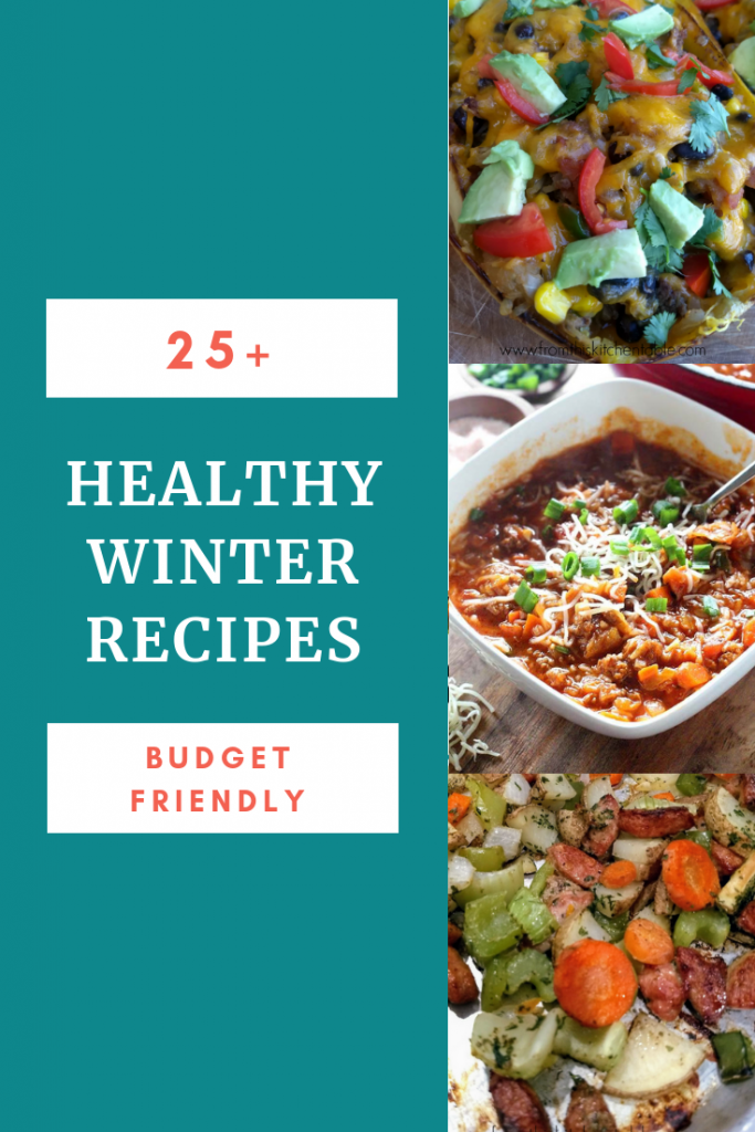 3 pictures of healthy winter recipes