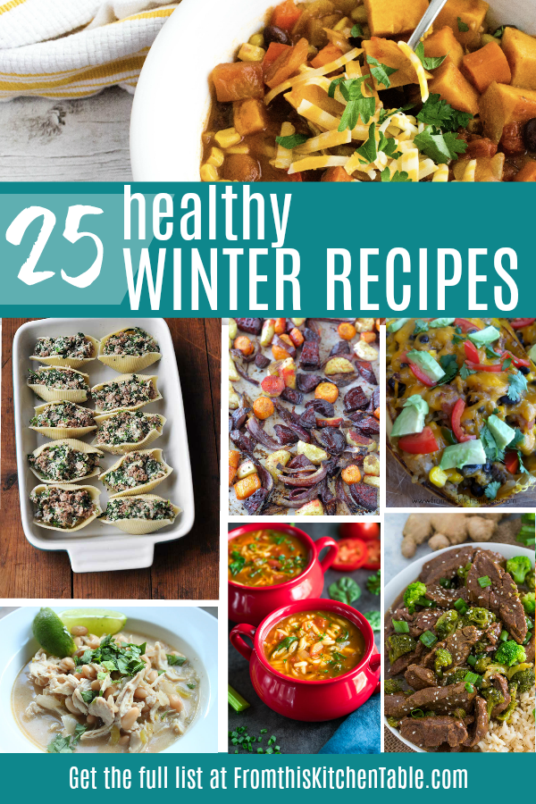 pictures of 25 delicious healthy winter recipes