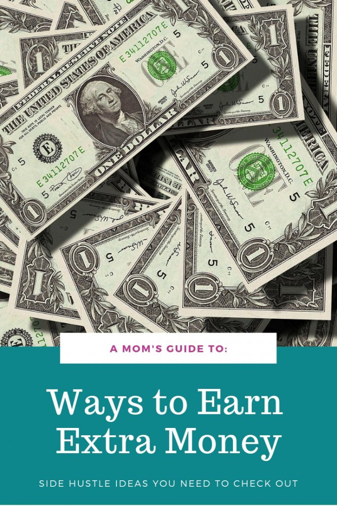 pile of $1 bills and ways to earn extra money