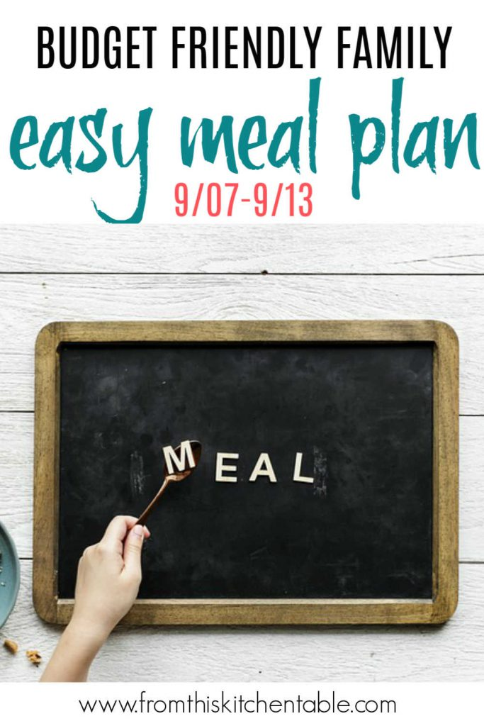 chalkboard with the word meal on it.
