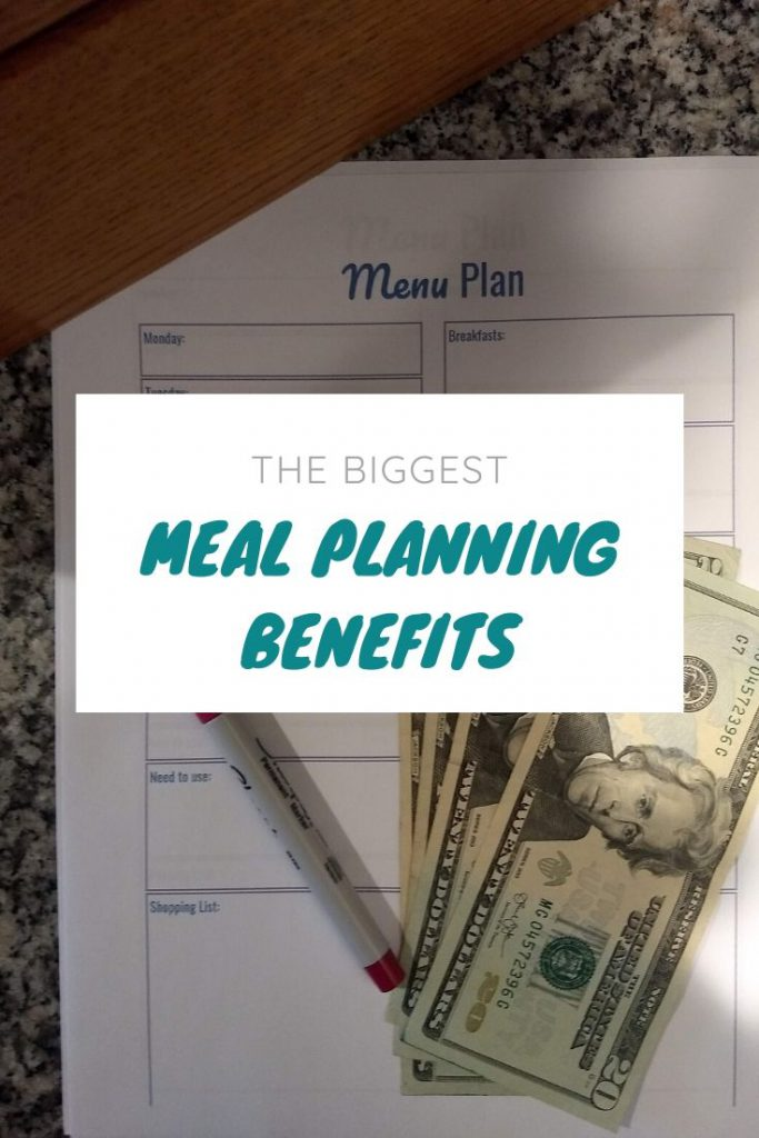 close up of a meal plan, cash and pen