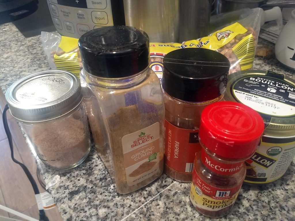 seasonings for the ranch style beans